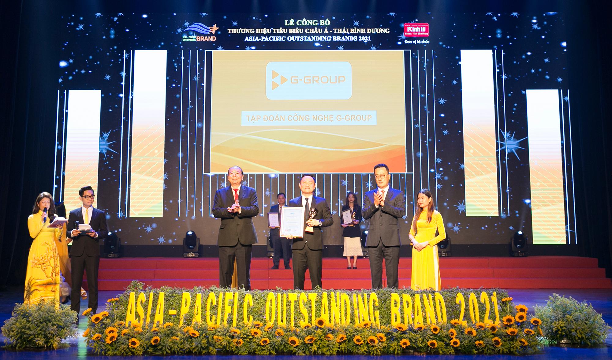 G-Group vào top 10 thương hiệu châu Á- Thái Bình Dương