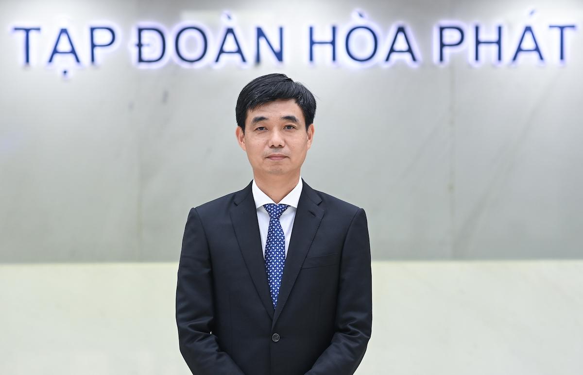 Ông Nguyễn Việt Thắng giữ chức Tổng giám đốc Tập đoàn Hoà Phát từ ngày 26/4. Ảnh: Hoà Phát
