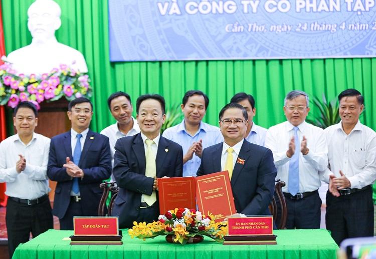 T&T Group muốn đầu tư nhiều dự án lớn tại Cần Thơ
