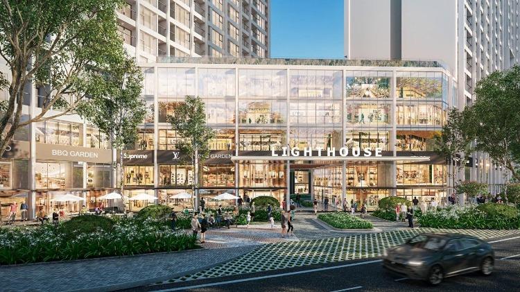 Trung tâm thương mại trong dự án tỷ đô ở Hải Dương