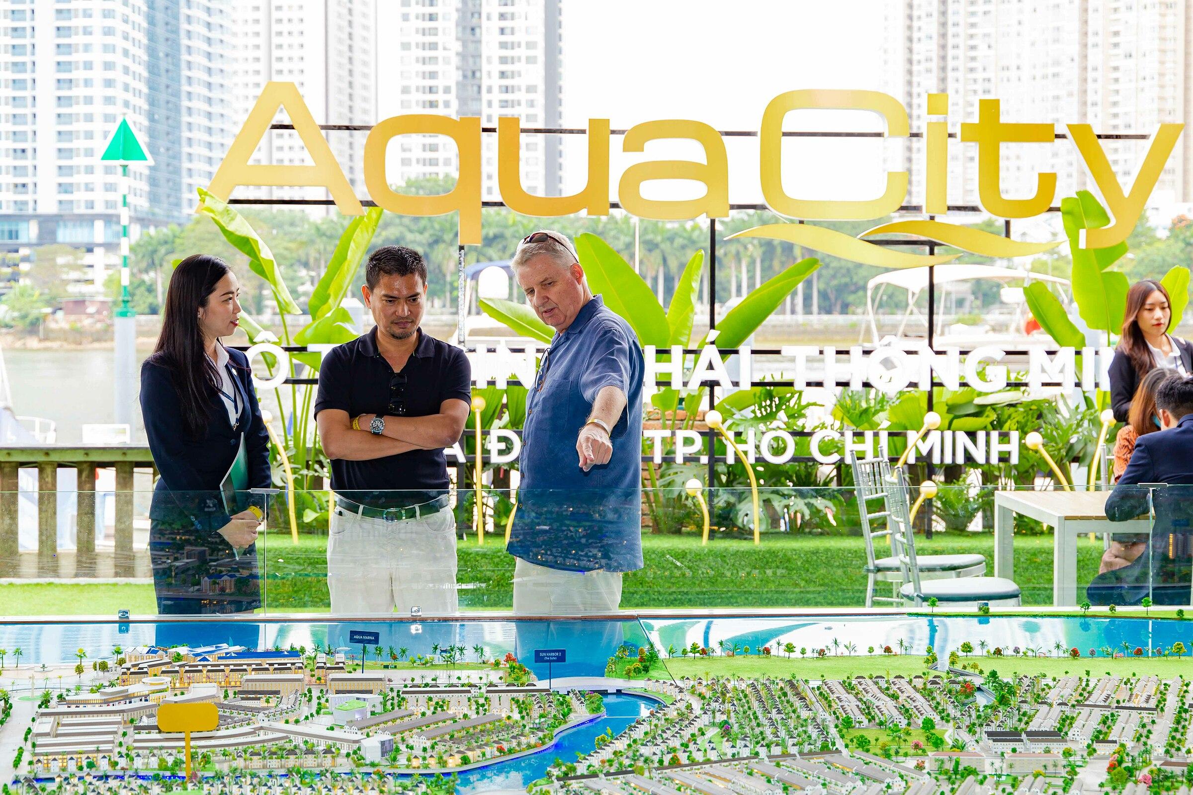 Cảnh quan, tiện ích Aqua City hấp dẫn nhà đầu tư ngoại