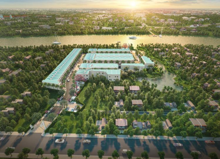 Taka Garden Riverside Homes kiến tạo không gian sống xanh tại Tân An