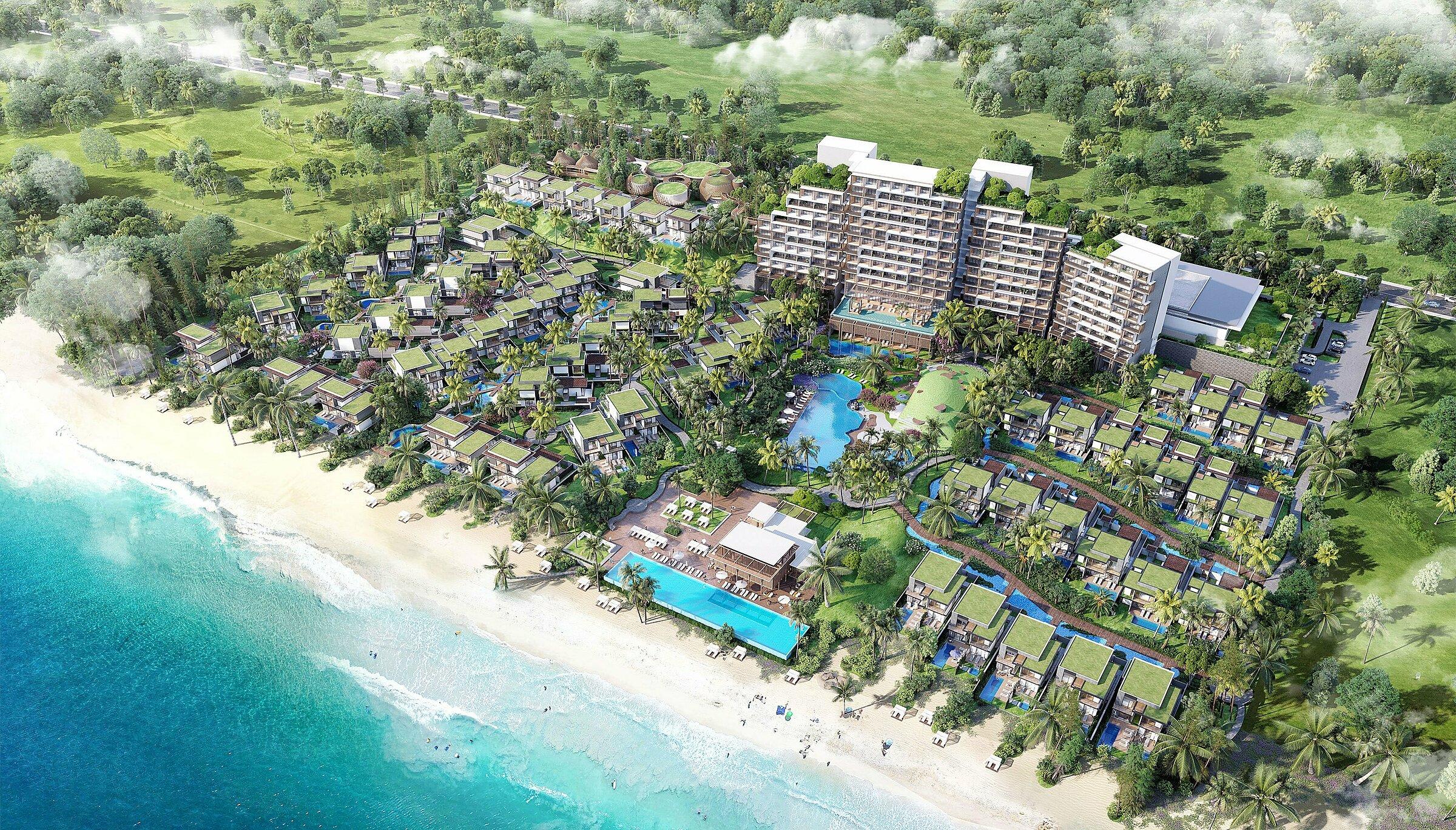 Coteccons khởi công dự án Hyatt Regency Hồ Tràm Resort & Spa
