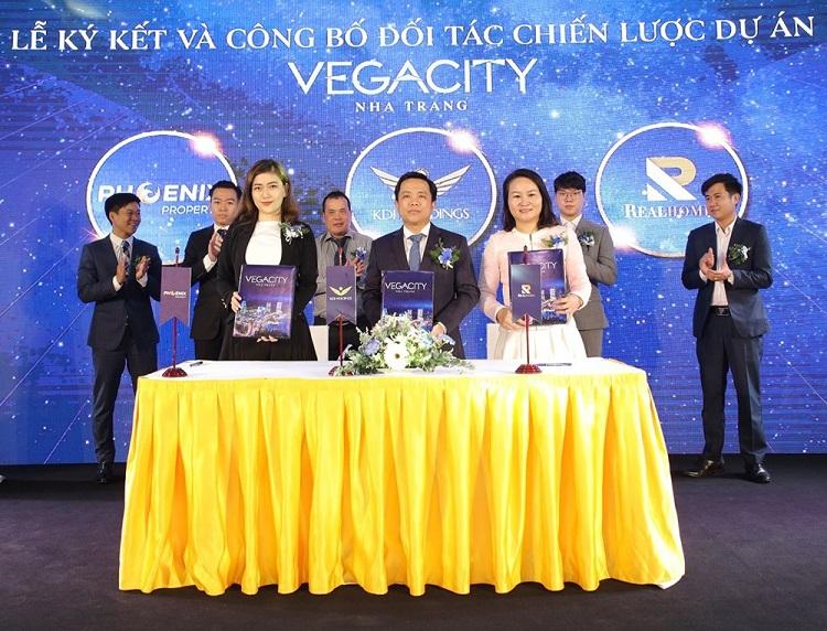 Nhiều đối tác góp thành công cho Vega City Nha Trang