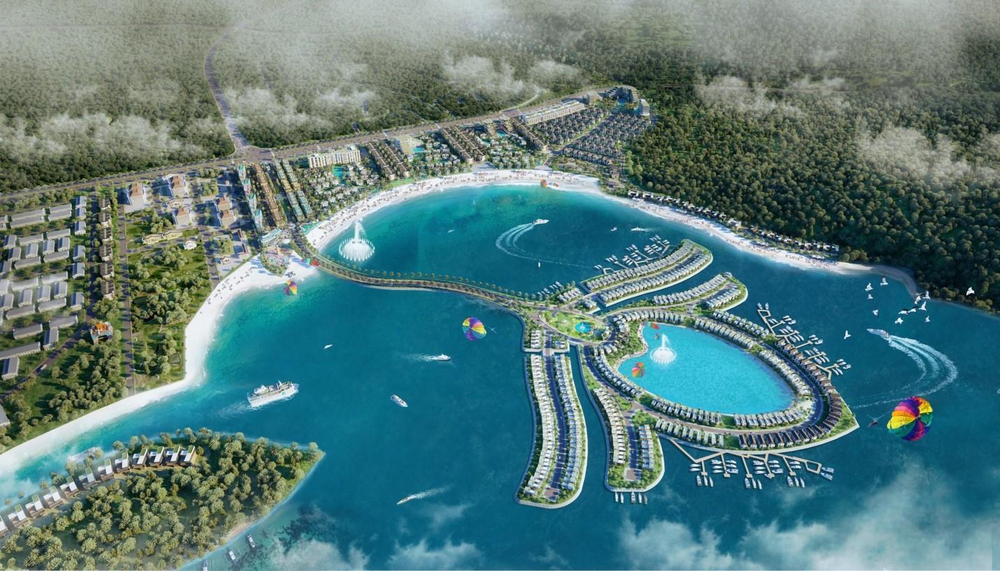 Khu nghỉ dưỡng Selavia gây ấn tượng với mô hình đảo nhân tạo