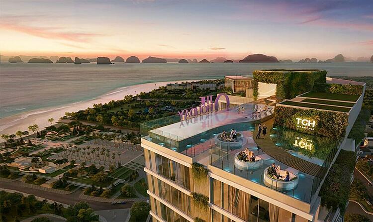 Không gian sky resort tại tầng 39 mang đến trải nghiệm xa hoa cho du khách.