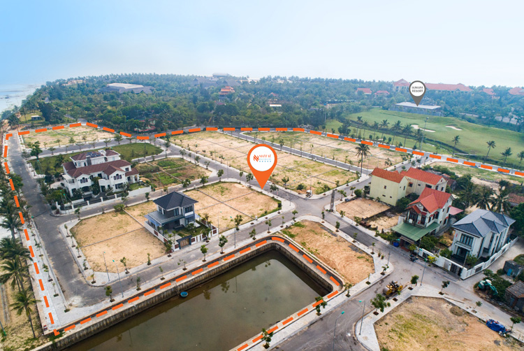 Dự án hưởng lợi từ cảnh quan, hạ tầng 5 sao của Sun Spa Resort.