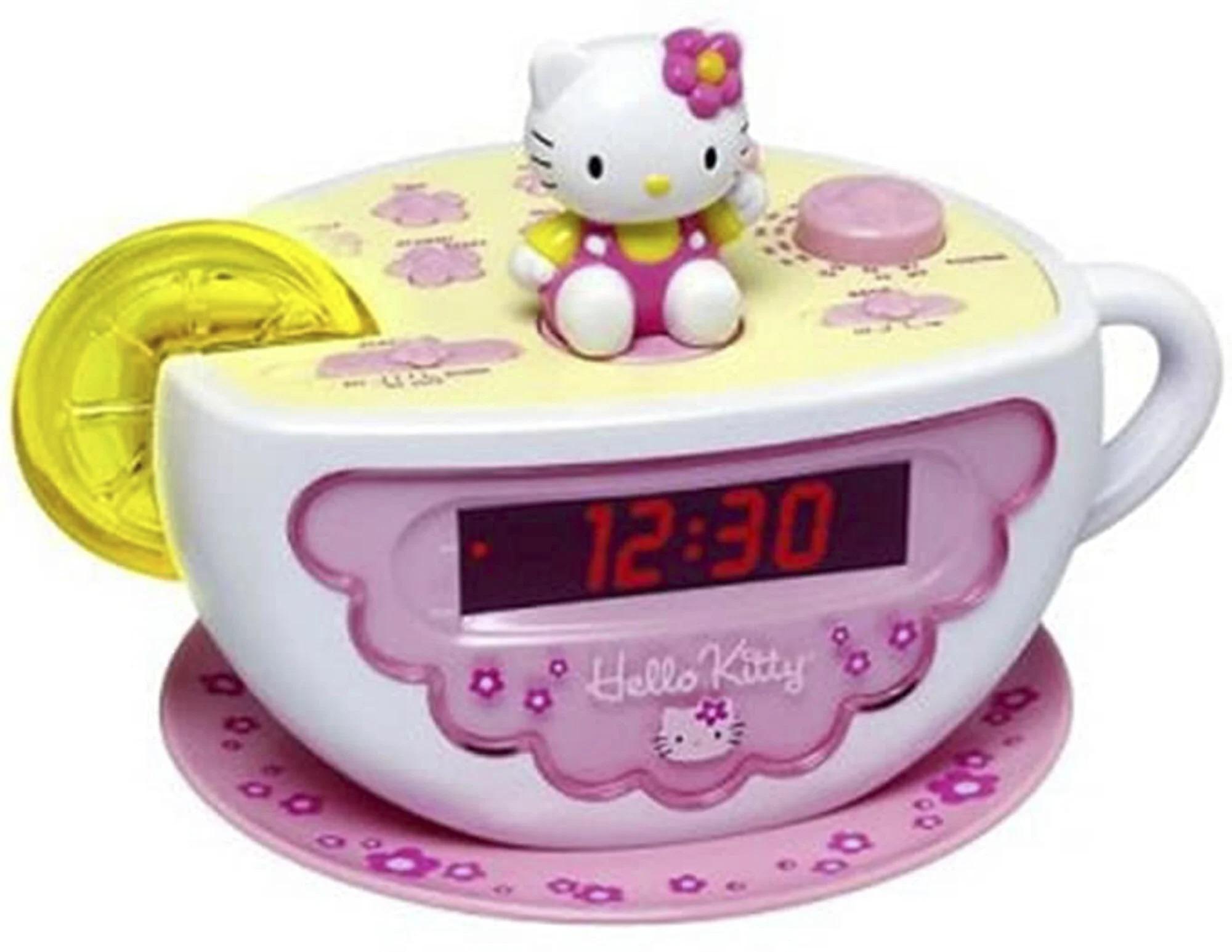 Mẫu đồng hồ Hello Kitty mà chị em Fowler từng sở hữu. Ảnh: Sanrio.