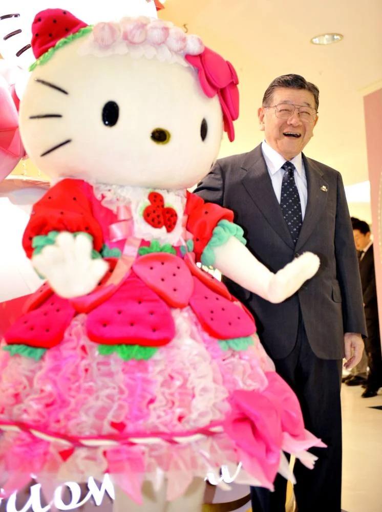 Shintaro Tsuji, Nhà sáng lập, Chủ tịch Sanrio. Ảnh: Sanrio.