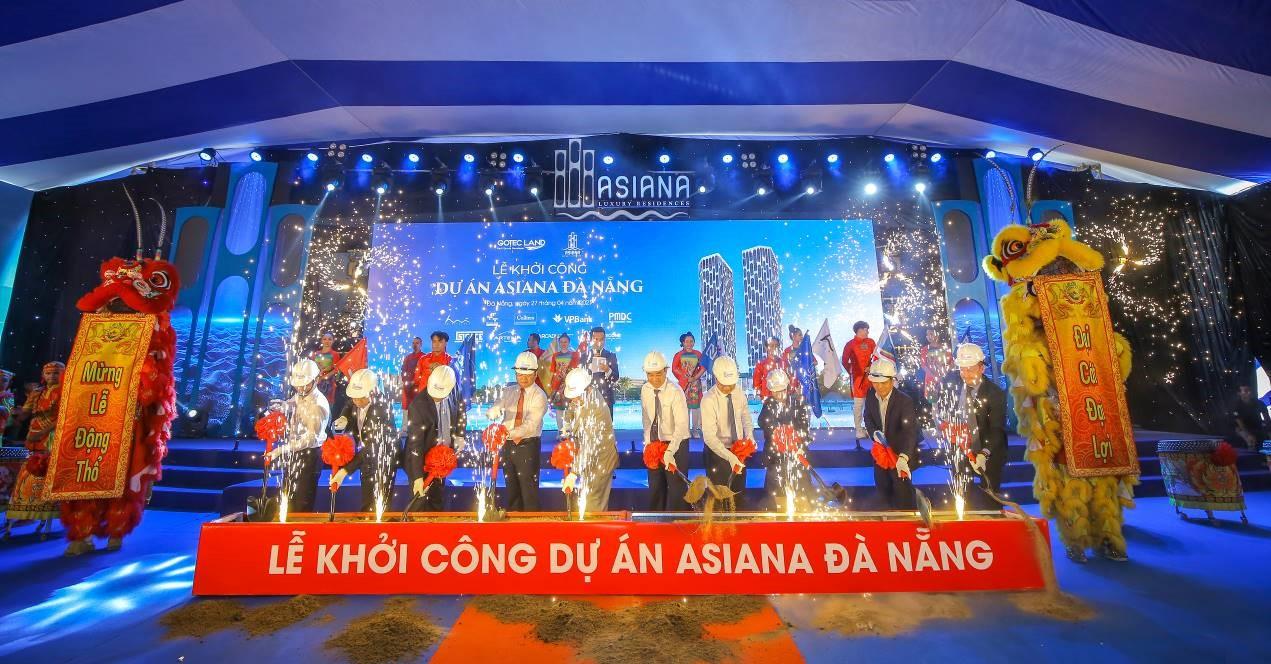 Gotec Land khởi công dự án căn hộ cao cấp Asiana Đà Nẵng