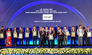 VietCredit được vinh danh trong bảng xếp hạng FAST500