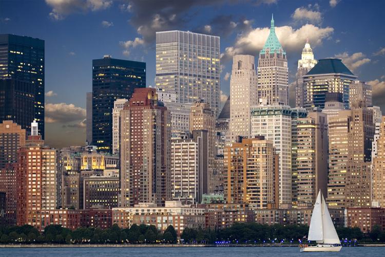 Manhattan (Mỹ) là một trong những nơi thu hút giới thượng lưu hàng đầu thế giới. (Ảnh: pixel)