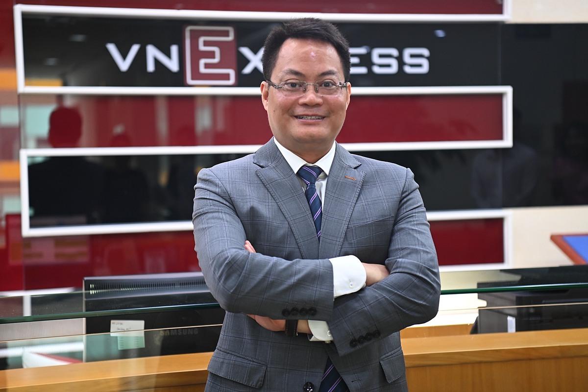 ông Nguyễn Việt Hùng, Phó Cục trưởng Cục Tin học và Thống kê tài chính, Bộ Tài chính