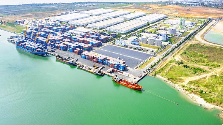Sở hữu cảng Chu Lai là lợi thế lớn của Thilogi khi tham gia ngành logistics.
