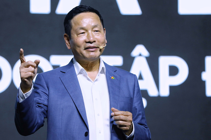 Chủ tịch FPT Trương Gia Bình cho biết, sự đồng điệu của FPT và Base là khát vọng vươn tầm toàn cầu.