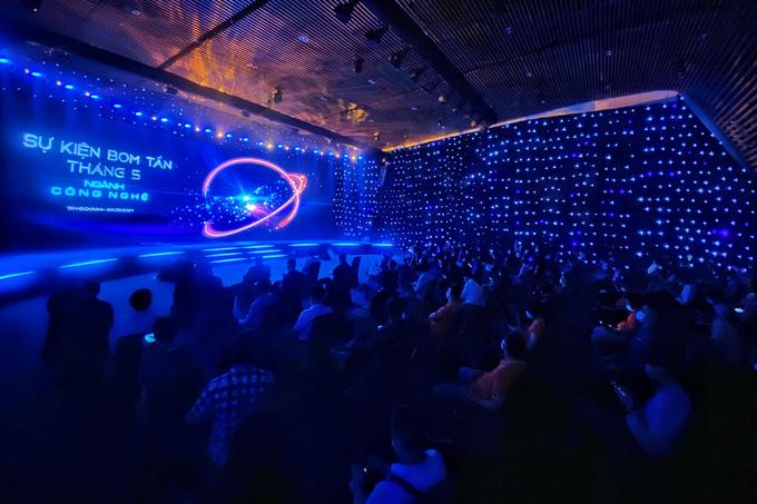 Sự kiện thu hút hàng trăm nhà đầu tư, doanh nghiệp, startup lĩnh vực công nghệ.