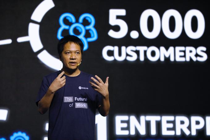 Ông Phạm Kim Hùng cho biết, hiện tại, có hơn 5.000 doanh nghiệp lựa chọn Base.vn.