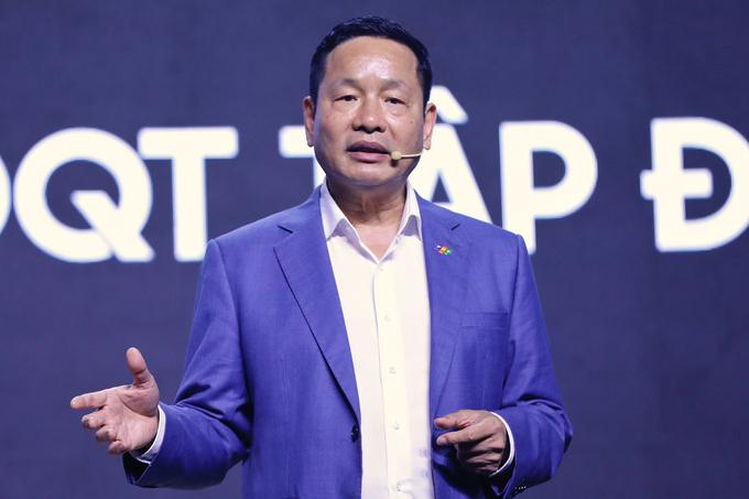 Theo Chủ tịch FPT Trương Gia Bình, chuyển đổi số là xu hướng tất yếu, là cơ hội cho Việt Nam hùng cường. Ảnh: Hữu Khoa.