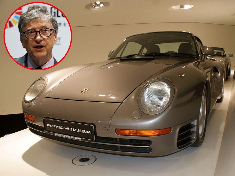 Một chiếc Porsche 959 được trưng bày. Ảnh: Reuters