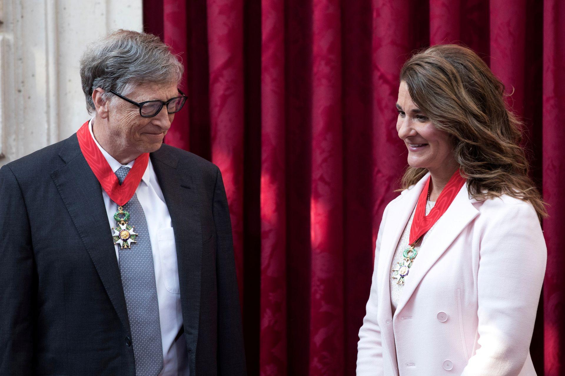 Bill và Melinda Gates thông báo ly hôn hôm 3/5. Ảnh: Reuters
