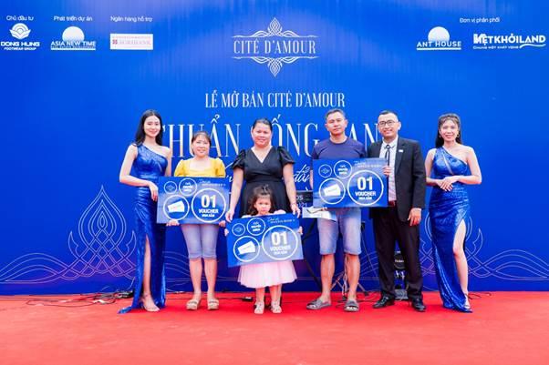 Cité D'amour dành tặng nhiều ưu đãi cho khách hàng.