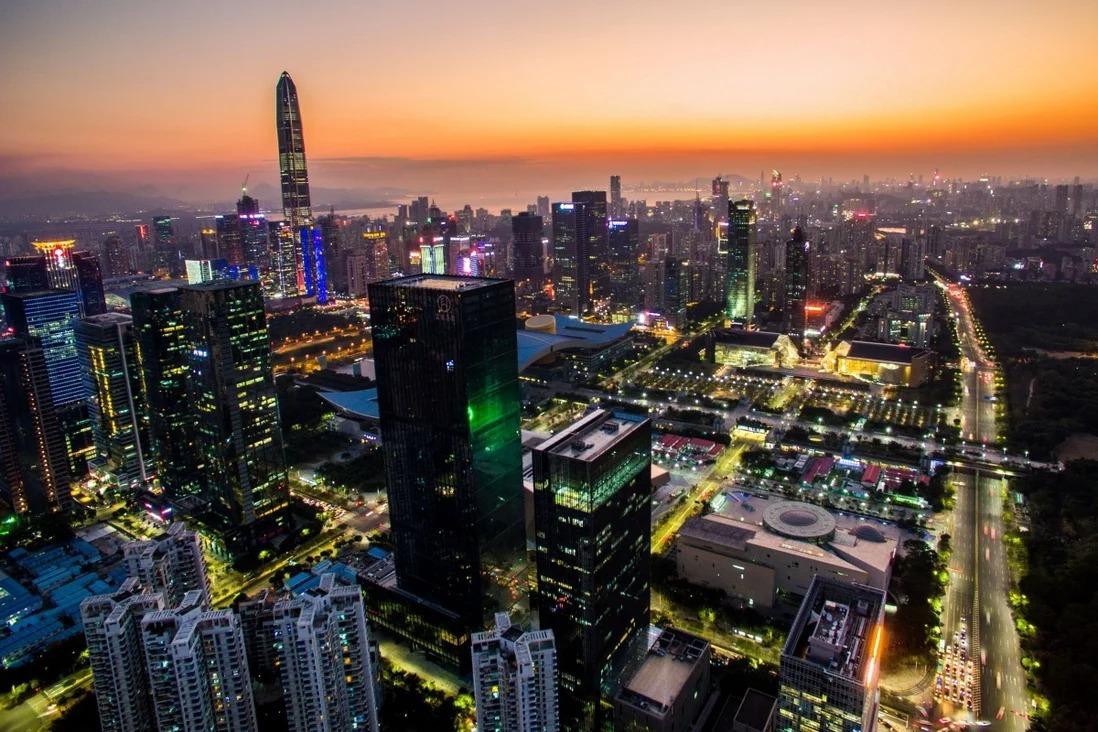 Một góc thành phố Thâm Quyến, Trung Quốc. Ảnh: Xinhua.
