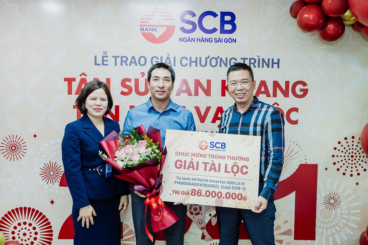 SCB trao giải 354 giải Tân Sửu an khang - Tân niên vạn lộc - 1