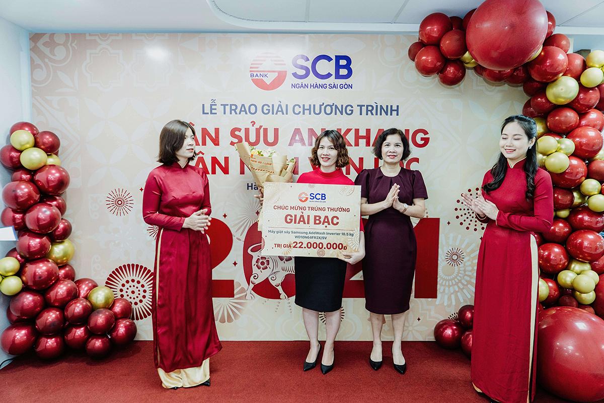 SCB trao giải 354 giải Tân Sửu an khang - Tân niên vạn lộc - 2