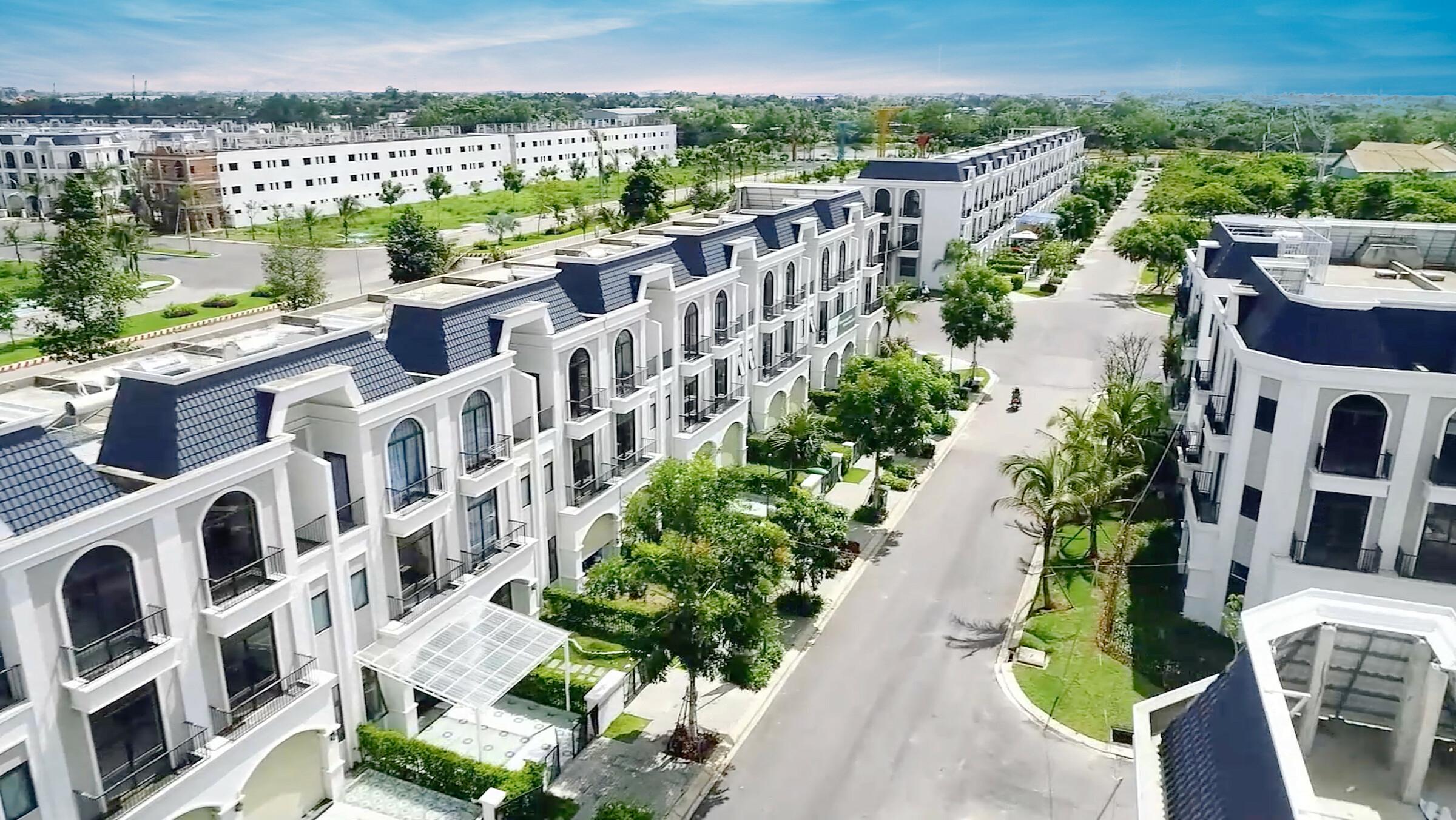 La Villa Green City - dự án được PVCombank hỗ trợ vay đến 60% trong 25 năm. Ảnh: Trần Anh Group.