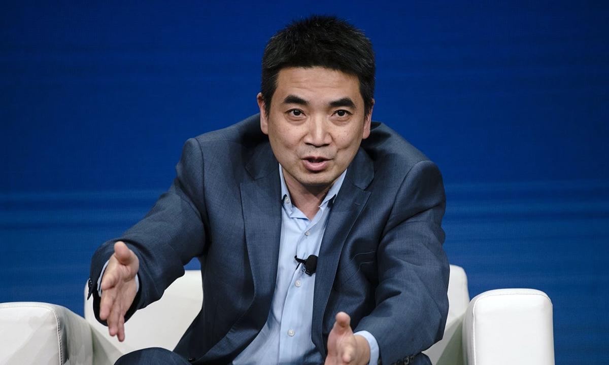 CEO Zoom Eric Yuan. Ảnh: Bloomberg