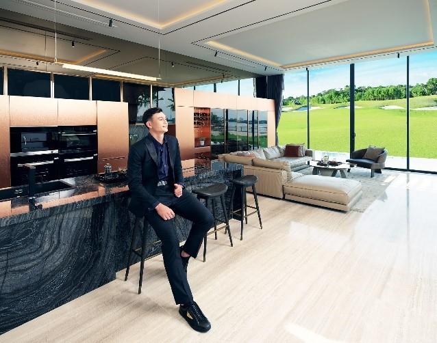Thủ thành Đặng Văn Lâm yêu thích PGA Golf Villas tại NovaWorld Phan Thiet bởi hệ sinh thái hàng trăm tiện ích sống đẳng cấp quốc tế tại đây. Ảnh nhà mẫu PGA Golf Villas.