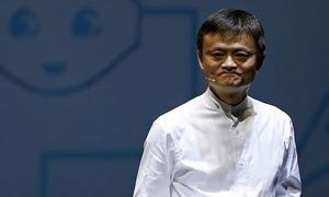 Jack Ma bất ngờ thăm trụ sở Alibaba