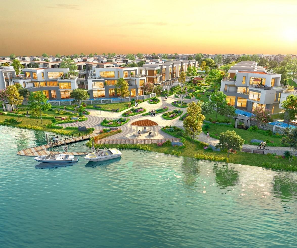 Aqua City kỳ vọng thỏa mãn nhu cầu sống xanh chất lượng của cư dân thời 4.0. Ảnh phối cảnh: Novaland.