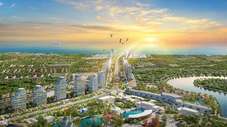 Sun Group ra mắt khu đô thị quảng trường biển 280ha tại Sầm Sơn
