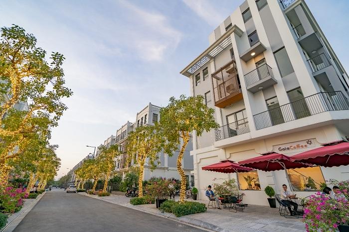 loại hình nhà phố thương mại đang là xu hướng mới, đặc biệt là các căn nhà phố thương mại nằm trong những dự án quy mô lớn. (Ảnh: The Manor Central Park)
