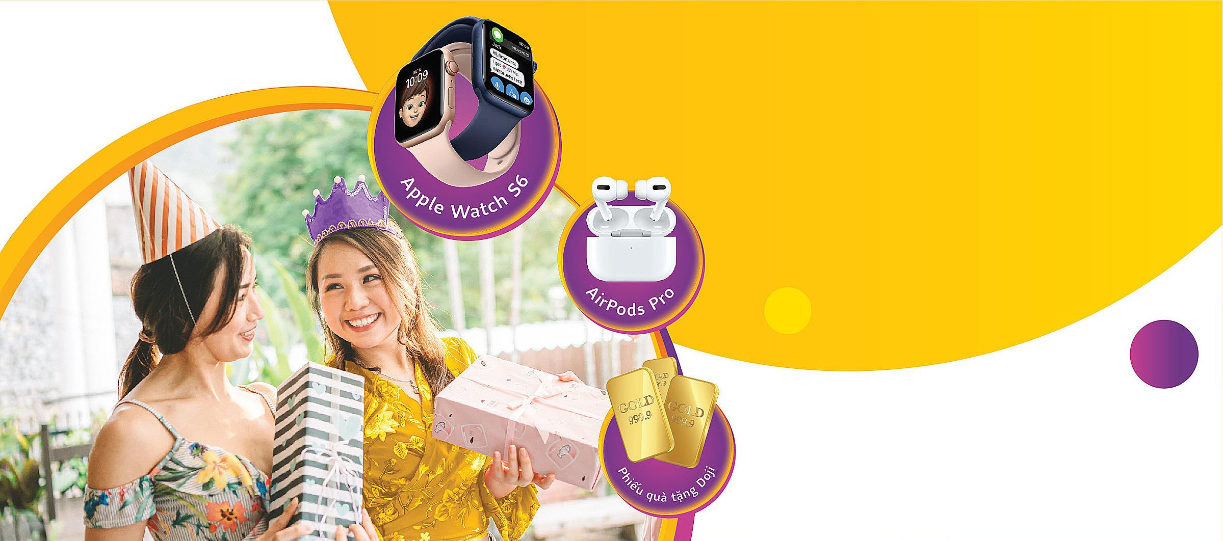 Khách hàng có cơ hội nhận nhiều phần quà hấp dẫn nhân kỷ niệm 13 năm thành lập TPBank.