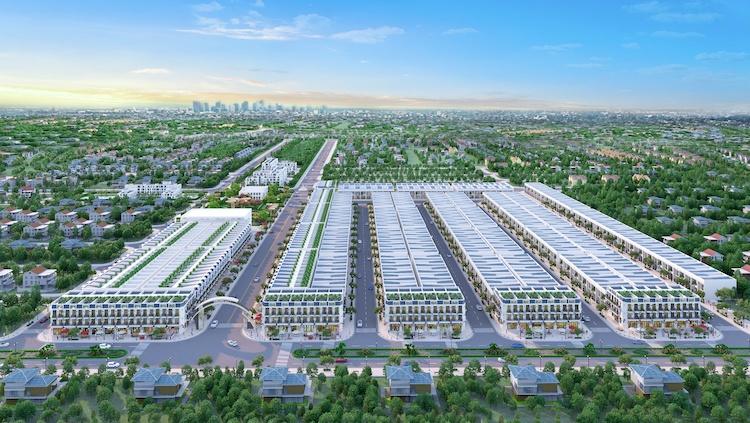 The Sun - một khu đô thị được phát triển tại trung tâm Bàu Bàng.