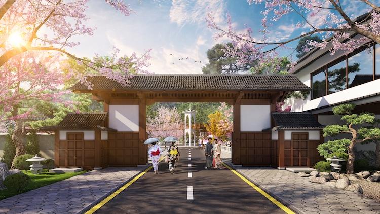 Văn hóa truyền thống Nhật Bản được tái hiện ngay tại Quảng Ninh.