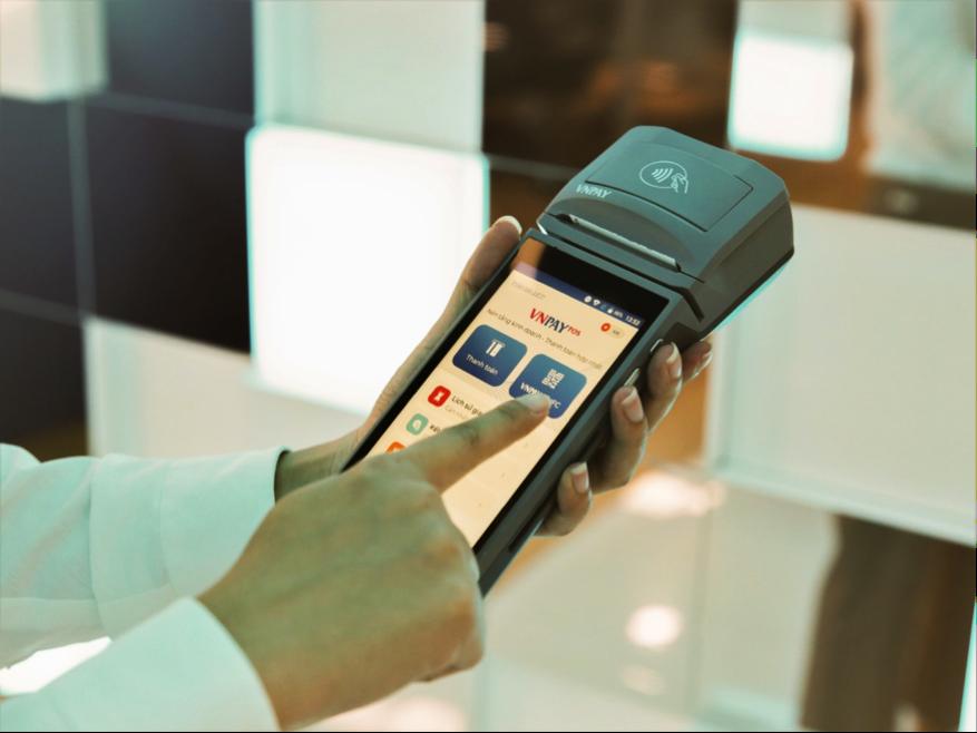 Giải pháp thanh toán VNPAY-POS tích hợp All-in-one chỉ trên một thiết bị.