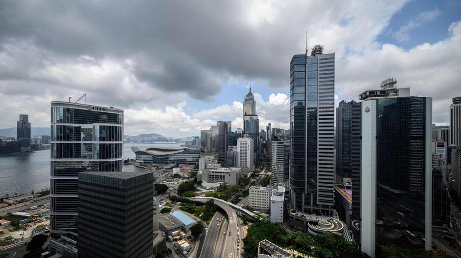 Thị trường bất động sản Hong Kong. Ảnh: AFP.