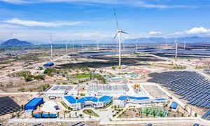 Trung Nam nhượng một phần nhà máy điện gió cho nhà đầu tư Nhật