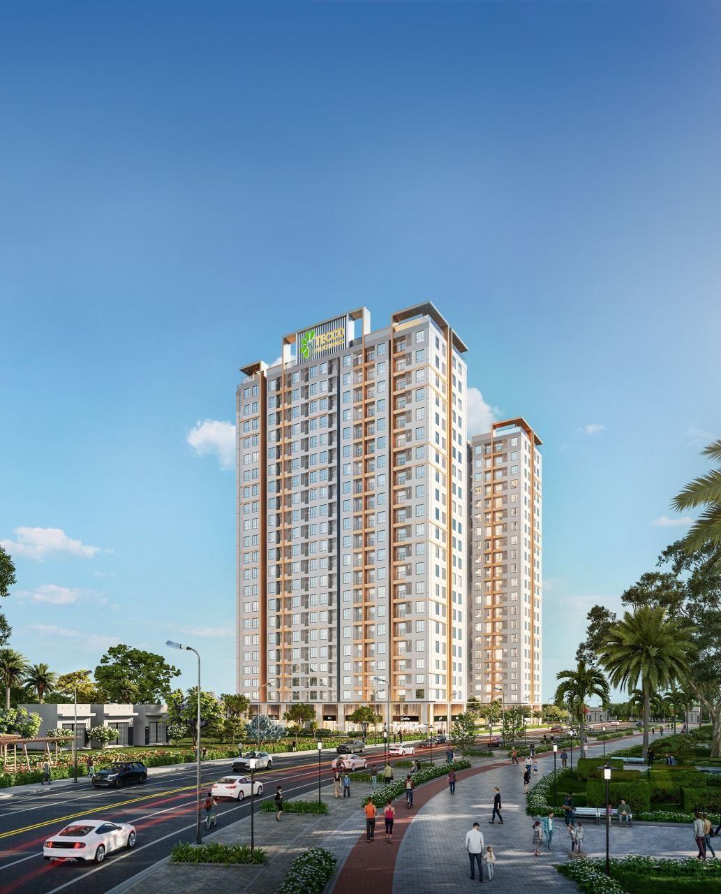 Tecco Felice Homes cung cấp gần 850 sản phẩm căn hộ cho thị trường Thuận An. Ảnh: Đất Xanh Miền Đông.