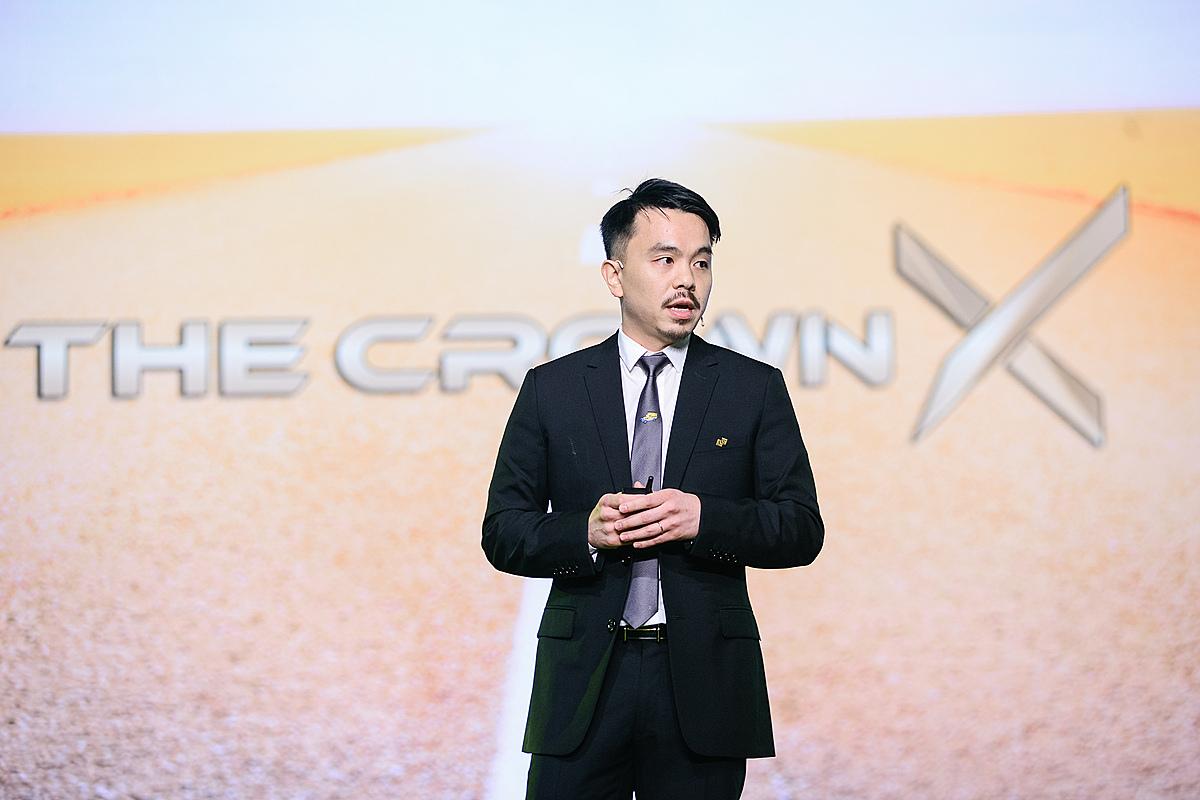 CEO Masan Danny Le tại buổi ra mắt The CrownX. Ảnh: MSN.