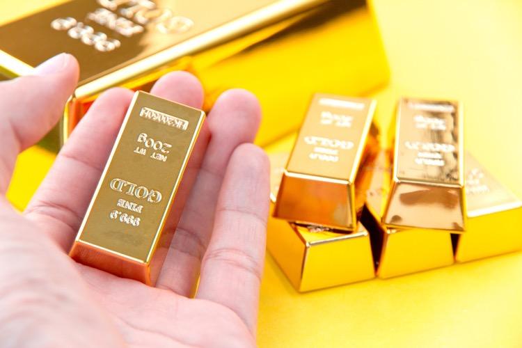 Giá vàng liên tục tăng mạnh. Ảnh: iStock.