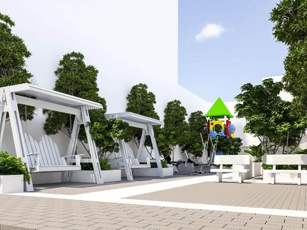 Hệ thống tiện ích trong dự án Ruby Boutique Residence.