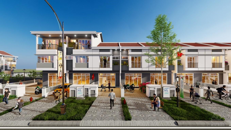 Dự án nhà phố Vườn Thiên Đàng 2 tại EcoLakes Mỹ Phước. Ảnh phối cảnh: SetiaBecamex.