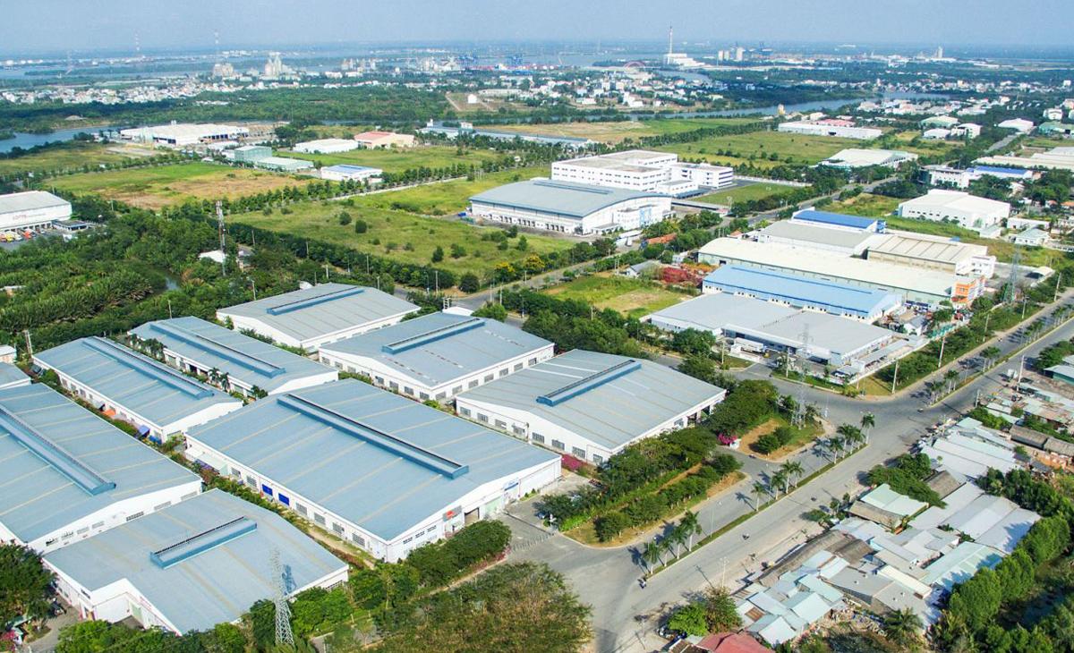 Khu công nghiệp Tam Bình, Vĩnh Long nằm cách xa các thủ phủ công nghiệp truyền thống phía Nam, được định vị là khu công nghiệp vệ tinh. Ảnh: Nhaxuongviet