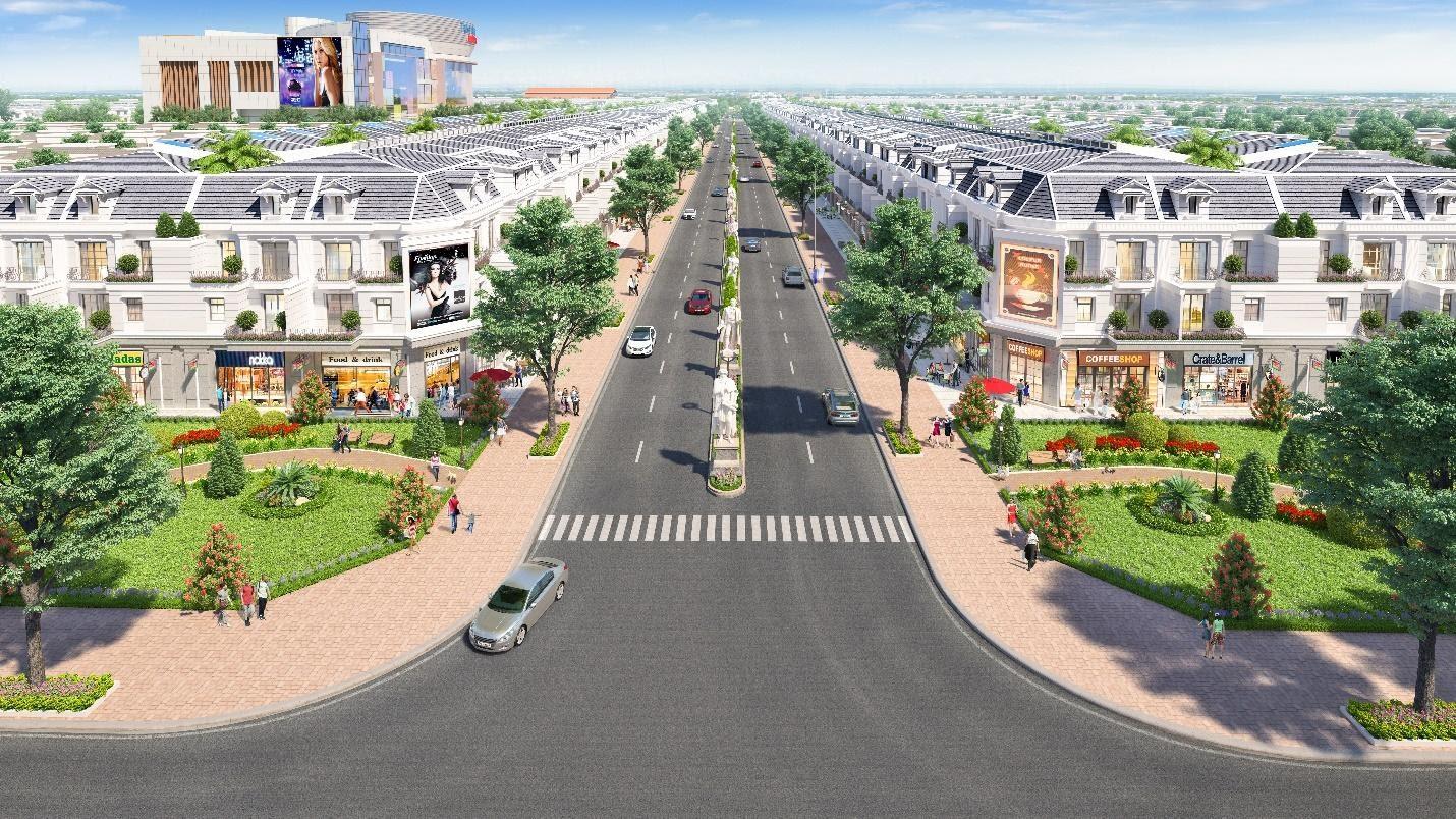 Cát Tường Phú Hưng là Dự án có hạ tầng công cộng tiêu biểu 2020 do Tạp chí Nhịp Cầu Đầu Tư bình chọn. Ảnh phối cảnh: Cát Tường Group.