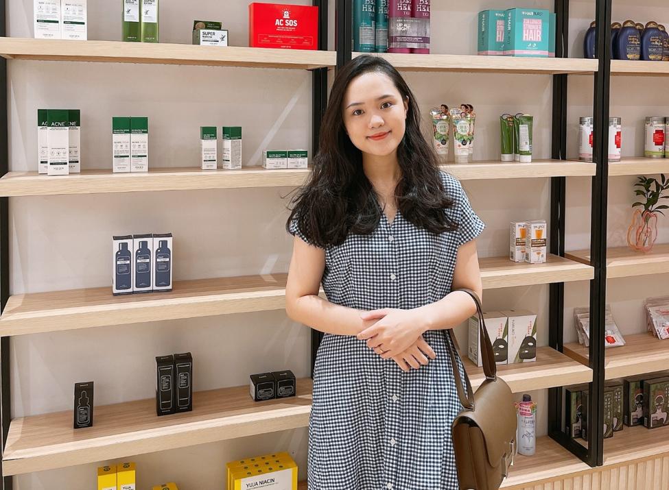 Chị Quỳnh Anh, chủ cửa hàng Aurora Castle. Ảnh nhân vật cung cấp