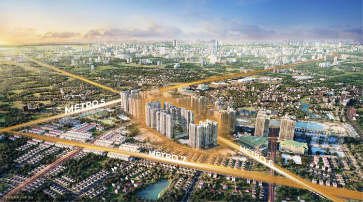 Vinhomes ra mắt toà căn hộ mới tại đại đô thị thông minh